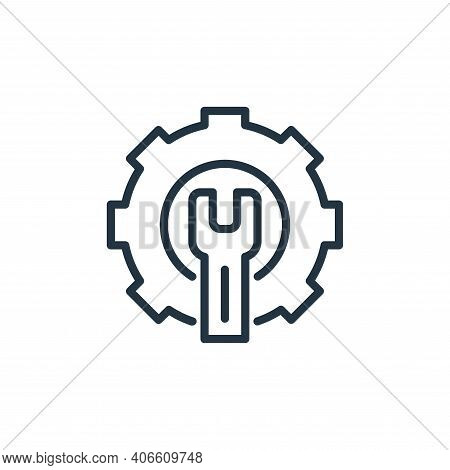screwdriver icon isolated on white background from engineering collection. screwdriver icon thin lin