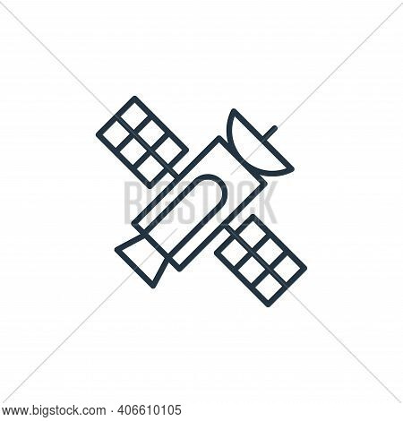 satellite icon isolated on white background from space collection. satellite icon thin line outline