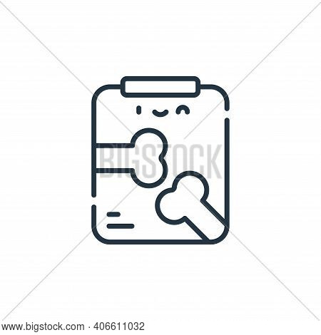 radiography icon isolated on white background from medical services collection. radiography icon thi