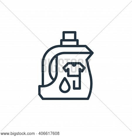 laundry detergent icon isolated on white background from recycling collection. laundry detergent ico