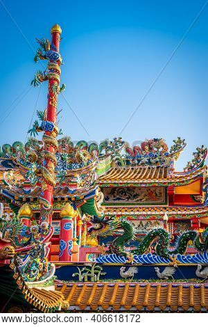 Munlanithi Prasatbun Sathan Shrine Is A Chinese Shrine Ancient Chinese Art Is The That Is A Tourist
