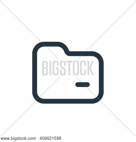 file icon isolated on white background from interface collection. file icon thin line outline linear
