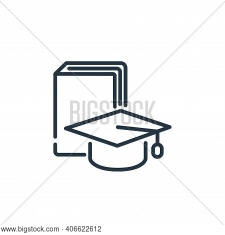education icon isolated on white background from insurance collection. education icon thin line outl