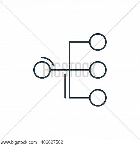 conection icon isolated on white background from network and database collection. conection icon thi