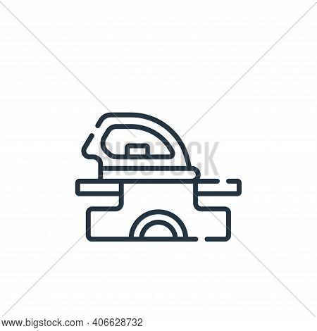 clothes icon isolated on white background from free time collection. clothes icon thin line outline