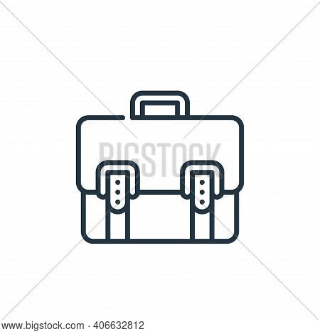 business icon isolated on white background from management collection. business icon thin line outli