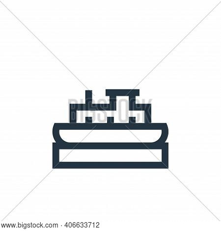 boat icon isolated on white background from holland collection. boat icon thin line outline linear b
