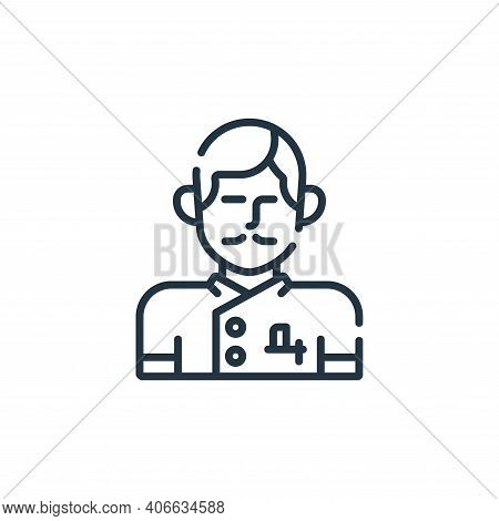 barber icon isolated on white background from hairdressing and barber shop collection. barber icon t