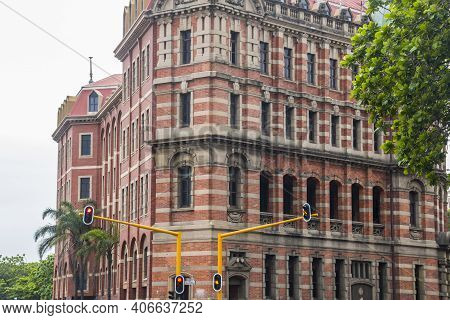 Old Railway Station Building In Central Durban, South Africa