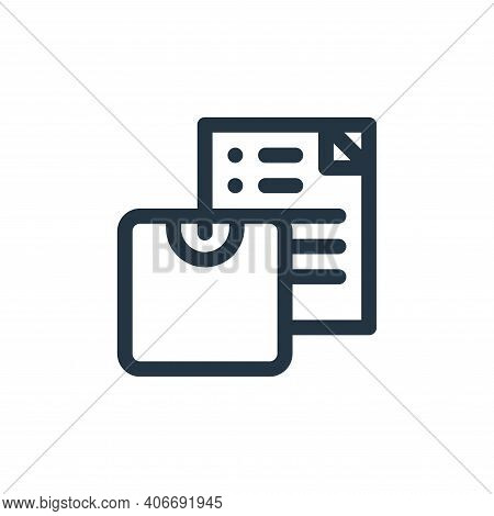 weight scale icon isolated on white background from health collection. weight scale icon thin line o