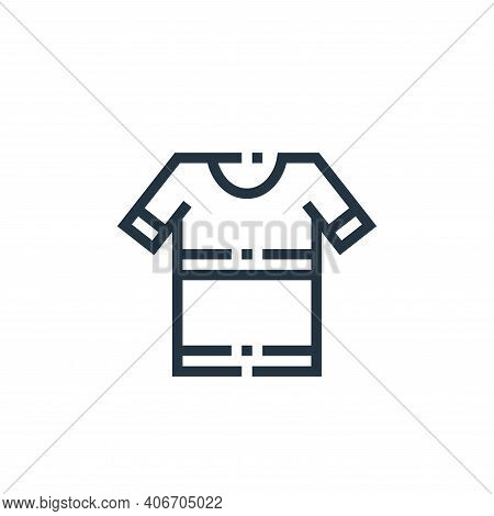 t shirt icon isolated on white background from clothes and apparel collection. t shirt icon thin lin