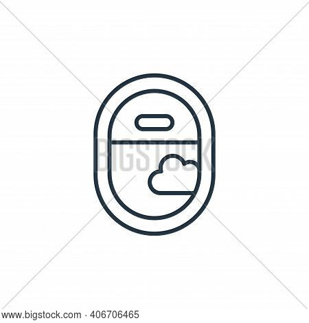 travel icon isolated on white background from retirement collection. travel icon thin line outline l