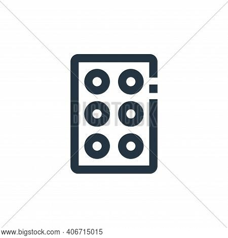 tablets icon isolated on white background from medical collection. tablets icon thin line outline li