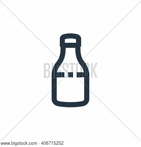 syrup icon isolated on white background from medical kit collection. syrup icon thin line outline li