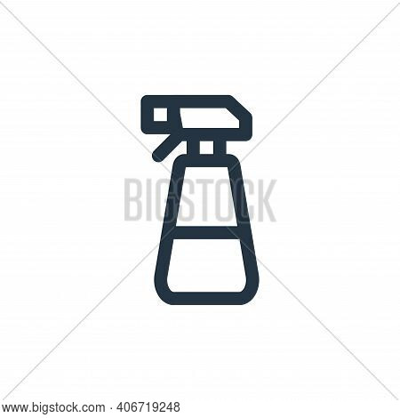 spray bottle icon isolated on white background from landscaping equipment collection. spray bottle i