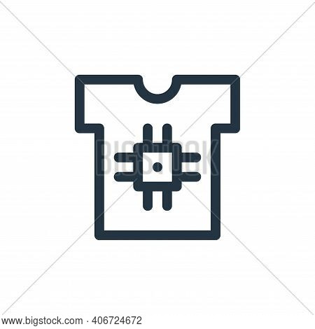 smart clothing icon isolated on white background from technology of the future collection. smart clo
