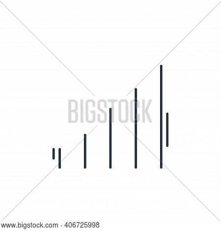 signal icon isolated on white background from network and database collection. signal icon thin line