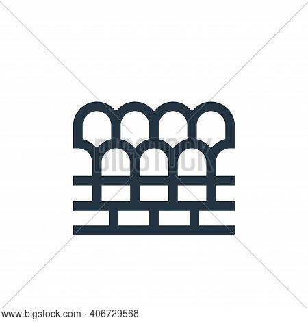 seats icon isolated on white background from soccer collection. seats icon thin line outline linear