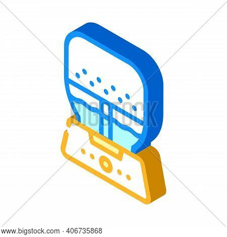 Air Purifier And Humidifier Isometric Icon Vector Illustration