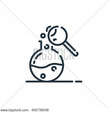research icon isolated on white background from startup collection. research icon thin line outline