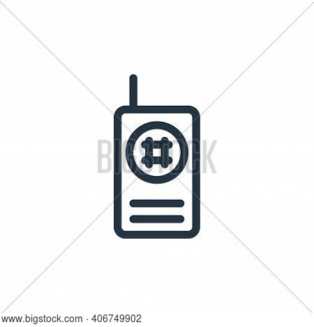 phone icon isolated on white background from technology collection. phone icon thin line outline lin