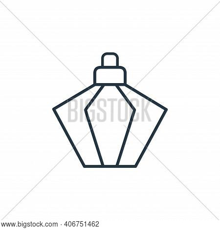perfumes icon isolated on white background from accessory collection. perfumes icon thin line outlin
