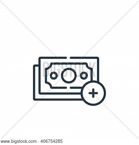 payment icon isolated on white background from kindness collection. payment icon thin line outline l
