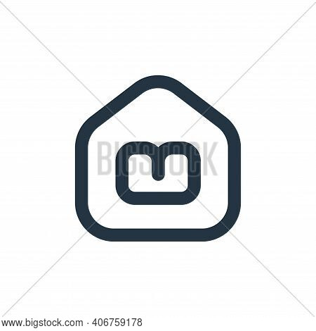 online learning icon isolated on white background from stay at home collection. online learning icon