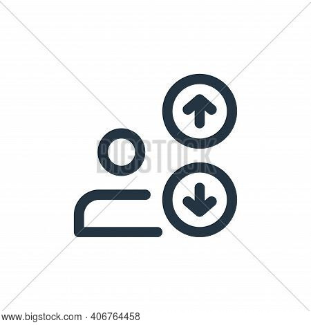 multi line icon isolated on white background from web apps seo collection. multi line icon thin line