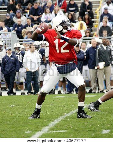 Penn State quarterback Kevin Newsome