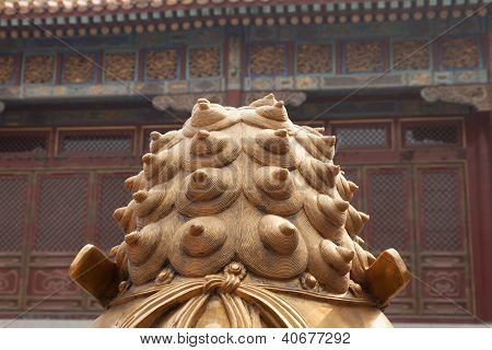 Abstract Chinese Dragon Statue