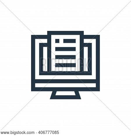 insurance icon isolated on white background from insurance collection. insurance icon thin line outl