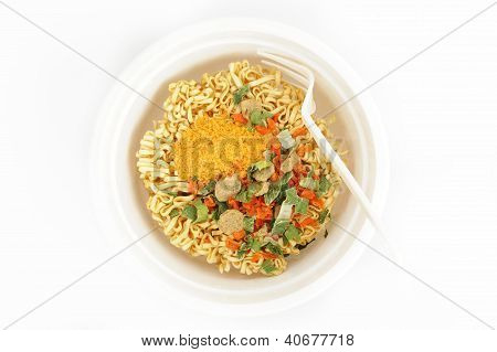 Instant Noodles In Cup