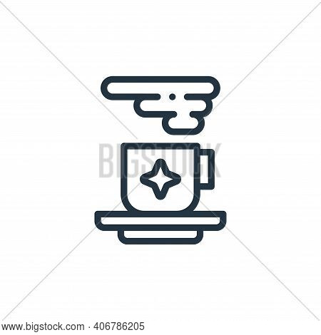 food icon isolated on white background from design thinking collection. food icon thin line outline