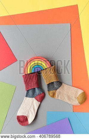 Poster For Odd Socks Day Initiative Against Bullying By Anti-bullying Alliance On November 16. Embra