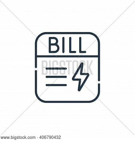 electrician service icon isolated on white background from electrician tools and elements collection
