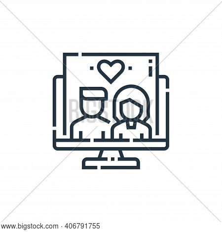 drama icon isolated on white background from videoblogger collection. drama icon thin line outline l