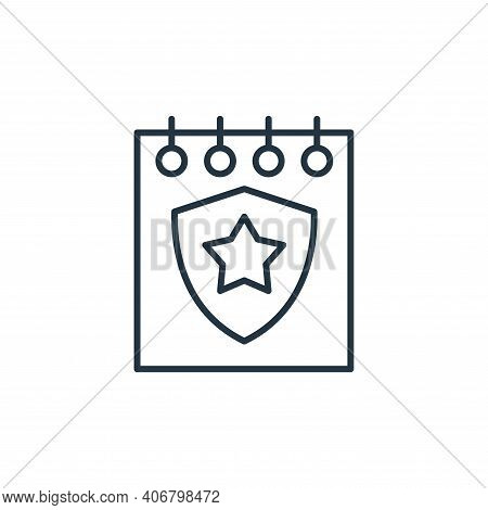 celebration icon isolated on white background from leadership collection. celebration icon thin line