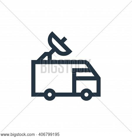 car icon isolated on white background from news collection. car icon thin line outline linear car sy