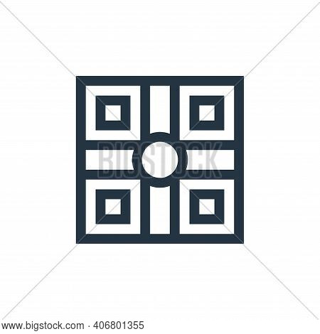 board game icon isolated on white background from mental health collection. board game icon thin lin
