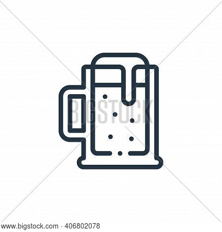 beer icon isolated on white background from europe collection. beer icon thin line outline linear be