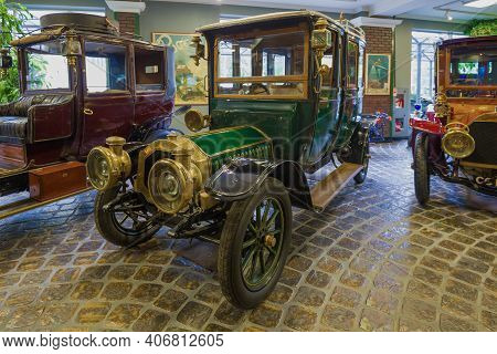 Moscow Region, Russia - August 26, 2020: Retro Car De Dion-bouton Type Ax 15 Hp In The Vadim Zadoroz