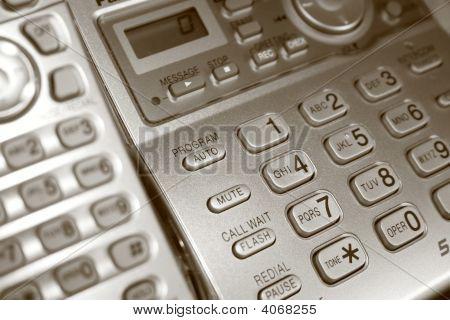 Telephone In Sepia