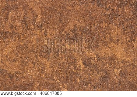 Granite Texture, Granite Surface And Background. High Resolution Of Brown Marble