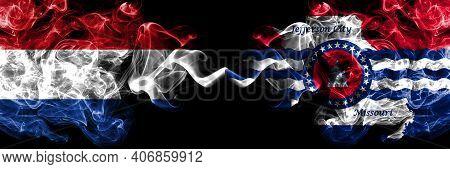 Netherlands Vs United States Of America, America, Us, Usa, American, Jefferson City, Missouri Smoky