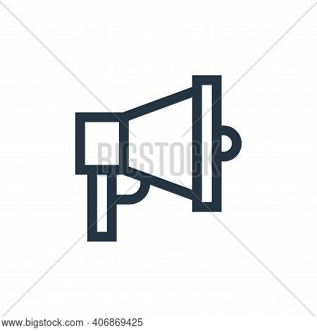 Advertisement icon isolated on white background from marketing and growth collection. Advertisement