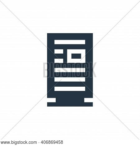 Advertisement icon isolated on white background from advertisement collection. Advertisement icon th
