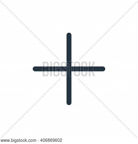 add icon isolated on white background from multimedia collection. add icon thin line outline linear