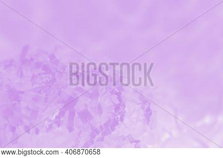 Light Pink Violet Background Of Shredded Paper