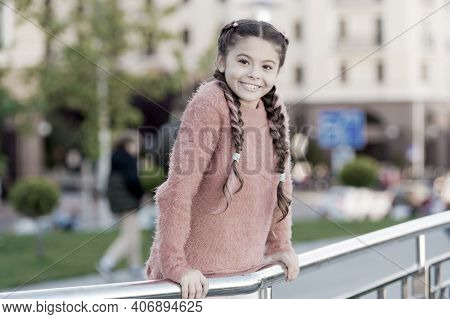 Event Overview. Leisure Options. Free Time And Leisure. Girl Urban Background. Entertainment For Chi
